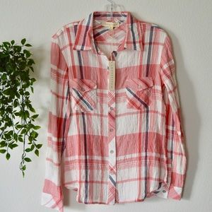 Lovestitch Long Sleeve Button Down